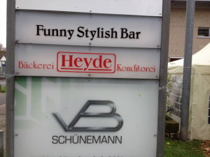 Funny stylish bar