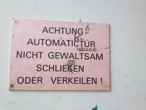Automatictür