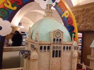 Rathaus aus Pappe