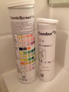 Combur und Combi Screen