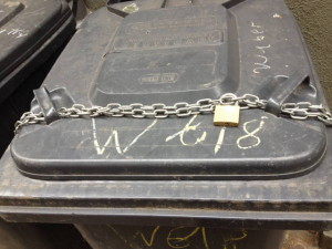 Mülltonnensicherung 2